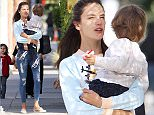 Picture Shows: Alessandra Ambrosio, Noah Mazur  April 09, 2015\n \n Victoria's Secret model Alessandra Ambrosio is spotted out and about in Santa Monica, California with her son Noah. \n \n Alessandra will soon be making her annual trek out to Indio, California, to attend the Coachella Music Festival. This year she'll even get to celebrate her birthday there as she turns 34 this Saturday! \n \n Exclusive - All Round\n UK RIGHTS ONLY\n \n Pictures by : FameFlynet UK © 2015\n Tel : +44 (0)20 3551 5049\n Email : info@fameflynet.uk.com