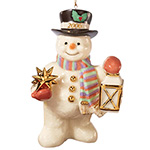 2006 Lenox He Is Starlight Collectible Snowman Christmas Ornament - Limited-edition Lenox Collectible Snowman Ornament! Annual 2006 Christmas Ornament Makes a Unique Christmas Decoration Idea