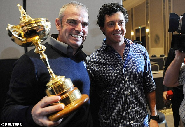 McGinley, McIlroy's Ryder Cup-winning coach, says the world No 1 aims to be an iconic figure in world sport