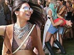 Picture Shows: Kendall Jenner, Hailey Baldwin  April 10, 2015\n \n Celebrities at Day 1 of the first weekend of The Coachella Valley Music and Arts Festival in Indio, California. \n \n Non-Exclusive\n UK RIGHTS ONLY\n \n Pictures by : FameFlynet UK © 2015\n Tel : +44 (0)20 3551 5049\n Email : info@fameflynet.uk.com