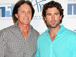Mandatory Credit: Photo by Broadimage/REX Shutterstock (2246845c)  Bruce Jenner and Brody Jenner  12th Annual Michael Jordan Invitational Gala, Las Vegas, America - 05 Apr 2013