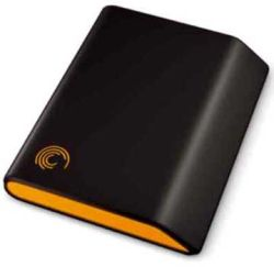 A Seagate portable / external hard drive