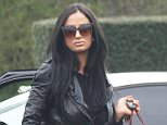 Picture Shows: Chantelle Houghton  April 4, 2015    ** Min Web / Online Fee £150 For Set **    Chantelle Houghton visits her mum's house for Easter lunch in Basildon, UK.    Chantelle didn't crack a smile as she arrived at her mum's house, wearing an all black outfit including a black leather jacket and black jeans.     She carried a red quilted Chanel handbag and sported oversized sunglasses.    ** Min Web / Online Fee £150 For Set **    Exclusive All Rounder  WORLDWIDE RIGHTS  Pictures by : FameFlynet UK © 2015  Tel : +44 (0)20 3551 5049  Email : info@fameflynet.uk.com