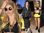 BERMUDA DUNES, CA - APRIL 11: Singer Fergie attends Moet Ice Imperial at Moschino's Late Night hosted by Jeremy Scott at Coachella 2015 on April 11, 2015 in Bermuda Dunes, California.  (Photo by Angela Weiss/Getty Images for Moet & Chandon)