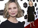 Calista Flockhart arrives at the TV Land Awards at the Saban Theatre on Saturday, April 11, 2015, in Beverly Hills, Calif. (Photo by Dan Steinberg/Invision/AP)