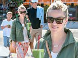 """Picture Shows: Jim Toth, Reese Witherspoon, Deacon Phillippe  April 11, 2015\n \n """"Wild"""" star Reese Witherspoon goes grocery shopping with her husband Jim and son Deacon at Bristol Farms in Santa Monica, California. Reese and Deacon bought a couple of green juices to enjoy as they left the store. \n \n Non Exclusive\n UK RIGHTS ONLY\n \n Pictures by : FameFlynet UK © 2015\n Tel : +44 (0)20 3551 5049\n Email : info@fameflynet.uk.com"""