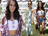 PALM SPRINGS, CA - APRIL 11:  Actress Jessica Lowndes attends POPSUGAR + SHOPSTYLE'S Cabana Club Pool Parties - Day 1 at the Avalon Hotel on April 11, 2015 in Palm Springs, California.  (Photo by Mike Windle/Getty Images for POPSUGAR)