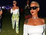 Picture Shows: Amber Rose  April 11, 2015\n \n Celebrities attend Day One of the first weekend of the Coachella Valley Music and Arts Festival in Indio, California.\n \n Non Exclusive\n UK RIGHTS ONLY\n \n Pictures by : FameFlynet UK © 2015\n Tel : +44 (0)20 3551 5049\n Email : info@fameflynet.uk.com