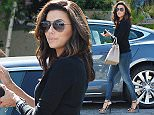 Eva Longoria gets her done at the Ken Paves Salon in West Hollywood  Pictured: Eva Longoria Ref: SPL995910  100415   Picture by: Photographer Group / Splash News  Splash News and Pictures Los Angeles: 310-821-2666 New York: 212-619-2666 London: 870-934-2666 photodesk@splashnews.com