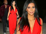 Kim Kardashian has a funny laugh with Kanye on romantic date night in streets of Armenia wearing stunning red dress following a visit to the Armenian Genocide memorial. Kim was all smiles and Kanye too as they waved to some fans and took photos while heading out also. Kim and Kanye held hands on the stairs while leaving the posh Province restaurant in Yerevan. Kim was happy to pose with her fans as Kanye was all smiles for her big night out with him and the fans of Armenia.\n\nPictured: Kim Kardashian, Kanye West\nRef: SPL996074  100415  \nPicture by: Brian Prahl / Splash News\n\nSplash News and Pictures\nLos Angeles: 310-821-2666\nNew York: 212-619-2666\nLondon: 870-934-2666\nphotodesk@splashnews.com\n