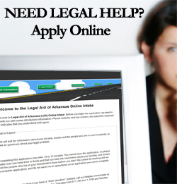 Apply online for legal help