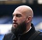 Tim Howard of Everton arrives at Goodison Park ahead of the Derby match against Liverpool