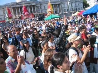 Trafalgar square: