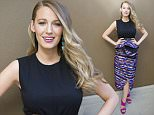 Mandatory Credit: Photo by Action Press/REX Shutterstock (4644874b)  Blake Lively  'The Age of Adaline' press conference at the Four Seasons Hotel in Beverly Hills, America - 12 Apr 2015