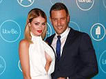 Mandatory Credit: Photo by James Shaw/REX Shutterstock (4176754aa)  Chloe Sims and Elliot Wright  itvBe launch party, London, Britain - 07 Oct 2014