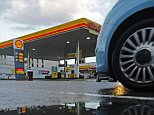 A Shell petrol station is seen in London January 31, 2013. Anglo-Dutch oil company Royal Dutch Shell is struggling to replace its oil and gas reserves as it pushes ahead with plans to produce more, invest more, and pay a higher dividend. Shell was posting quarterly profit that missed expectations on Thursday, rising 15 percent to $5.58 billion on an adjusted current cost of supply basis thanks, in part, to stronger refining margins and compared with a forecast for $6.2 billion.  REUTERS/Luke MacGregor  (BRITAIN - Tags: BUSINESS ENERGY)
