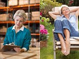 The good life...eventually: More and more employees will have to work throughout their 60s before they can retire.