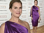 NEW YORK, NY - APRIL 13:  Brooke Shields attends the 2015 Tribeca Ball at New York Academy of Art on April 13, 2015 in New York City.  (Photo by Eugene Gologursky/WireImage)