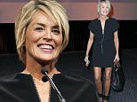 """The 2015 NAB Show Honors The Life of Lowell """"Bud"""" Paxson With The 2015 NAB Spirit of Broadcasting Award\nFeaturing: Sharon Stone\nWhere: Las Vegas, Nevada, United States\nWhen: 13 Apr 2015\nCredit: Judy Eddy/WENN.com"""