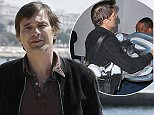 French film actor Olivier Martinez poses for photographers during the MIPTV International Television Programme Market, Monday, April 13, 2015, in Cannes, southern France. He presents the brand new tv series ÏTexas RisingÓ. (AP Photo/Lionel Cironneau)