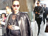 14.APRIL.2015 - PARIS - FRANCE R&B SINGER ALICIA KEYS ARRIVING IN PARIS AT ROISSY AIRPORT. ALICIA IS IN THE FRENCH CAPITAL FOR THE PROMOTION OF GIVENCHY'S NEW FRAGRANCE DAHLIA DIVIN. BYLINE MUST READ : ABACA/XPOSUREPHOTOS.COM *AVAILABLE FOR UK ONLY* ***UK CLIENTS - PICTURES CONTAINING CHILDREN PLEASE PIXELATE FACE PRIOR TO PUBLICATION *** **UK CLIENTS MUST CALL PRIOR TO TV OR ONLINE USAGE PLEASE TELEPHONE 0208 344 2007**
