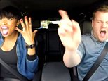 James and Jennifer Hudson make the most of their drive to work singing a few classic tunes, stopping at her Hollywood Walk of Fame star and ordering from a drive-thru.