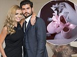 Mandatory Credit: Photo by REX Shutterstock (4229730p)  Andrew Levitas and wife Katherine Jenkins  Andrew Levitas: Metalwork Photography private view, London, Britain - 29 Oct 2014
