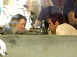 """UK CLIENTS MUST CREDIT: AKM-GSI ONLY EXCLUSIVE: Rachel McAdams and Jake Gyllenhaal are spotted having dinner at the restaurant Odys + Penelope. The pair were first spotted out together last June and are rumored to have started dating after growing close on the set of the boxing drama """"Southpaw.''  Pictured: Rachel McAdams and Jake Gyllenhaal Ref: SPL995346  130415   EXCLUSIVE Picture by: AKM-GSI / Splash News"""