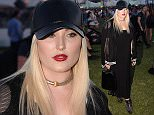 Hayley Hasslhoff is seen on Day 3 of the Coachella Music Festival in Indio, Ca  Pictured: Hayley Hasselhoff Ref: SPL998048  130415   Picture by: London Entertainment /Splash  Splash News and Pictures Los Angeles: 310-821-2666 New York: 212-619-2666 London: 870-934-2666 photodesk@splashnews.com