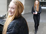 Mandatory Credit: Photo by Beretta/Sims/REX Shutterstock (4644886h)  Sophie Turner at the studios of BBC Radio 1  Sophie Turner out and about, London, Britian - 13 Apr 2015