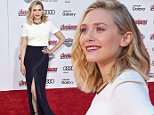 """HOLLYWOOD, CA - APRIL 13:  Actress Elizabeth Olsen attends the premiere of Marvel's """"Avengers: Age Of Ultron"""" at Dolby Theatre on April 13, 2015 in Hollywood, California.  (Photo by Mark Davis/Getty Images)"""