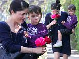 Picture Shows: Selma Blair, Arthur Bleick  April 13, 2015\n \n 'Geezer' actress Selma Blair and her son Arthur stop by a friends house in West Hollywood, California. Selma picked a couple of flowers along the way and enjoyed smelling the freshly bloomed flowers. \n \n Non-Exclusive\n UK RIGHTS ONLY\n \n Pictures by : FameFlynet UK © 2015\n Tel : +44 (0)20 3551 5049\n Email : info@fameflynet.uk.com