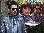 13 apr 2015 - ROME - ITALY  *** NOT AVAILABLE FOR ITALY ***  BEN STILLER IS SEEN DRIVING A RED SPIDER ON THE SET OF ZOOLANDER 2 IN ROME WITH YOUNG ACTOR CYRUS ARNOLD AND TAKING A PHOTO WITH THE SELFIE STICK WHILE DRIVING   BYLINE MUST READ : XPOSUREPHOTOS.COM  ***UK CLIENTS - PICTURES CONTAINING CHILDREN PLEASE PIXELATE FACE PRIOR TO PUBLICATION ***  **UK CLIENTS MUST CALL PRIOR TO TV OR ONLINE USAGE PLEASE TELEPHONE 44 208 344 2007**