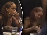 Rihanna Coke cocaine grabs