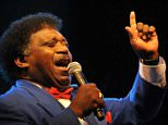 Mandatory Credit: Photo by Action Press/REX Shutterstock (784048e).. Percy Sledge.. Jazz an der Donau festival in Straubing, Germany - 18 Jul 2008.. ..