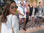 EDITORIAL USE ONLY. NO MERCHANDISING  Mandatory Credit: Photo by ITV/REX Shutterstock (4657588bp)  Spencer, Jamie, Louise and Andy  'This Morning' TV Programme, London, Britain. - 14 Apr 2015  MADE IN CHELSEA-  Spencer, Jamie, Louise and Andy tell us what really happened in Barbados.