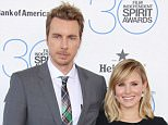 Mandatory Credit: Photo by Matt Baron/BEI/REX Shutterstock (4443954es)  Dax Shepard and Kristen Bell  30th Film Independent Spirit Awards, Los Angeles, America - 21 Feb 2015