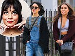 Picture Shows: Vanessa Hudgens, Stella Hudgen  April 13, 2015\n \n Actress Vanessa Hudgens is spotted out for a stroll with her sister Stella in New York City, New York. Vanessa's streak of attending the Coachella Music Festival has come to an end this year, as her Broadway commitments have her working on both weekends.\n \n Non-Exclusive\n UK RIGHTS ONLY\n \n Pictures by : FameFlynet UK © 2015\n Tel : +44 (0)20 3551 5049\n Email : info@fameflynet.uk.com