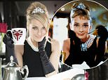 MUST CREDIT: Bupa/Rex **EMBARGO until 00:01 Wednesday 15th April 2015**  Mandatory Credit: Photo by Bupa/REX Shutterstock (4656367a)  Tess Daly recreates 'Breakfast at Tiffany?s'  EMBARGO 00:01 15/4/15: Tess Daly launches Bupa Feel Great Britain Campaign, Britain - Apr 2015  **EMBARGO until 00:01 Wednesday 15th April 2015** FULL COPY: http://www.rexfeatures.com/nanolink/q8mt  Tess Daly recreates the ?In Bed with Madonna Shot? as a new list compiled by Bupa reveals that sleeping in a freshly made bed is the nation?s top feel great moment. The TV presenter is the ambassador for Bupa Feel Great Britain, a programme of events and activities to inspire and encourage Britons to feel great.