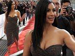 Kim Kardashian arriving at Marionnaud 15 April 2015. Please byline: Vantagenews.co.uk