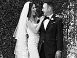 LOS ANGELES, CA - APRIL 12:  In this handout image provided by David Arquette and Christina McLarty, Christina McLarty and David Arquette were married Sunday, April 12, 2015 in Los Angeles amongst family and friends.  Journalist McLarty and actor/prodicer Arquette were joined at the ceremony by their year-old son Charlie and Arquette's daughter Coco as well as their two basset hounds.  The couple have been together for four years. (Photo by David S. Holloway/David Arquette and Christina McLarty via Getty Images)