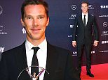 epa04705281 Host British actor Benedict Cumberbatch arrives for the 2015 Laureus Sports Awards ceremony at Shanghai Grand Theater, in Shanghai, China, 15 April 2015. The Laureus Media Prize is attributed to people that have made an impact to the world of sport.  EPA/WU HONG