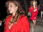 Annalynne McCord wearing a red dress was seen leaving 'Craigs' Restaurant in West Hollywood, CA\n\nPictured: Annalynne McCord\nRef: SPL999013  140415  \nPicture by: SPW / Splash News\n\nSplash News and Pictures\nLos Angeles: 310-821-2666\nNew York: 212-619-2666\nLondon: 870-934-2666\nphotodesk@splashnews.com\n