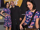 NEW YORK, NY - APRIL 14:  Vanessa Hudgens and Pete Wentz attend the revealing of the All-New Guitar Hero Live game by Activision on April 14, 2015 in New York City.  (Photo by Larry Busacca/Getty Images for Activision)
