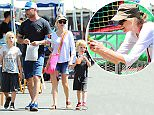 Liev Schreiber and Naomi Watts have a family outing with their children to the Farmers Market Featuring: Naomi Watts, Liev Schreiber, Samuel Schreiber, Alexander Schreiber Where: Los Angeles, California, United States When: 13 Apr 2015 Credit: WENN.com