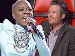 """THE VOICE -- """"Live Top 12"""" Episode 813A -- Pictured: Kimberly Nichole -- (Photo by: Tyler Golden/NBC/NBCU Photo Bank via Getty Images)"""