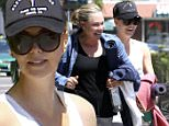 Charlize Theron and her mom leave yoga class in West Hollywood, CA on April 15, 2015.\n\nPictured: Charlize Theron \nRef: SPL994383  150415  \nPicture by: Ako/Splash News\n\nSplash News and Pictures\nLos Angeles: 310-821-2666\nNew York: 212-619-2666\nLondon: 870-934-2666\nphotodesk@splashnews.com\n