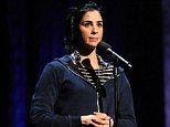Sarah Silverman speaks on stage during Amnesty International's Secret Policeman's Ball at Radio City Music Hall on March 4, 2012 in New York City.     NEW YORK, NY - MARCH 04:  (EXCLUSIVE COVERAGE)  (Photo by Kevin Mazur/Getty Images for Amnesty International)