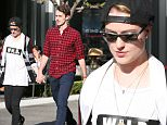 West Hollywood, CA - Looks like actress Evan Rachel Wood has moved on from recent relationship with Katherine Moennig as she holds hands with a mystery man at The Grove today.  Interesting enough the mystery man has quite the resemblance of ex-husband Jamie Bell whom she has a child with.  Has Evan moved on from Katherine and back to dating men?\nAKM-GSI        April 14, 2015\nTo License These Photos, Please Contact :\nSteve Ginsburg\n(310) 505-8447\n(323) 423-9397\nsteve@akmgsi.com\nsales@akmgsi.com\nor\nMaria Buda\n(917) 242-1505\nmbuda@akmgsi.com\nginsburgspalyinc@gmail.com
