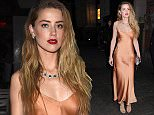 Celebrities attends the Tiffany & Co. 2015 Blue Book Collection celebration, held ABC Kitchen, New York City on April 15, 2015.  Pictured: Amber Heard Ref: SPL999939  150415   Picture by: Photo Image Press / Splash News  Splash News and Pictures Los Angeles: 310-821-2666 New York: 212-619-2666 London: 870-934-2666 photodesk@splashnews.com